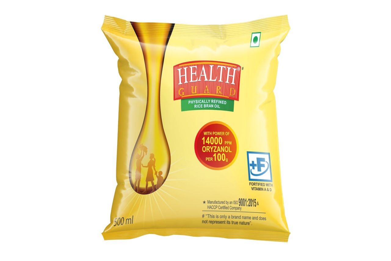 Health Guard Rice Bran Oil(500 ml)