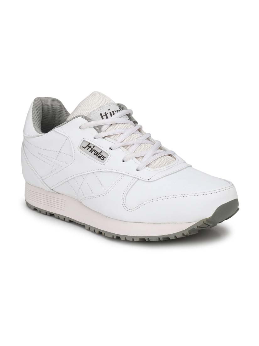 JOGGER110-White-MEN'S SPORTS SHOES