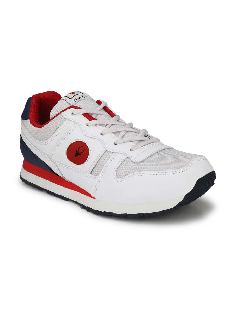 JOGGER114-White/Red-MEN'S SPORTS SHOES