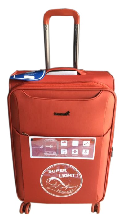 Rust Red Ballistic Nylon Travel Bag - 1004(24)