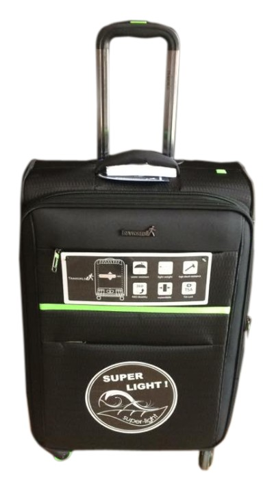 "TB JUPITER 103 24"" NEW-BLACK TRAVEL BAG"