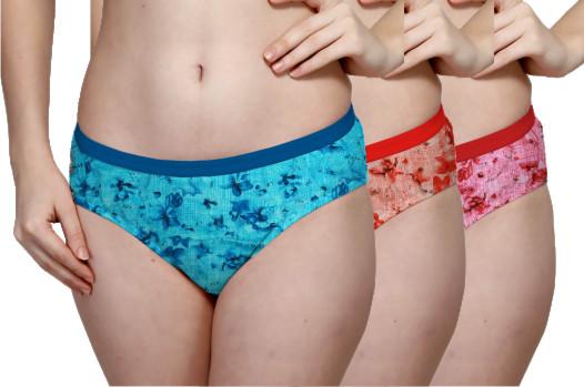 Plain Outer Elastic Panty Pack of 3 -KS002-PACK 1