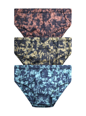 Printed Inner Elastic Panty Pack of 3 -KS004-pack 9