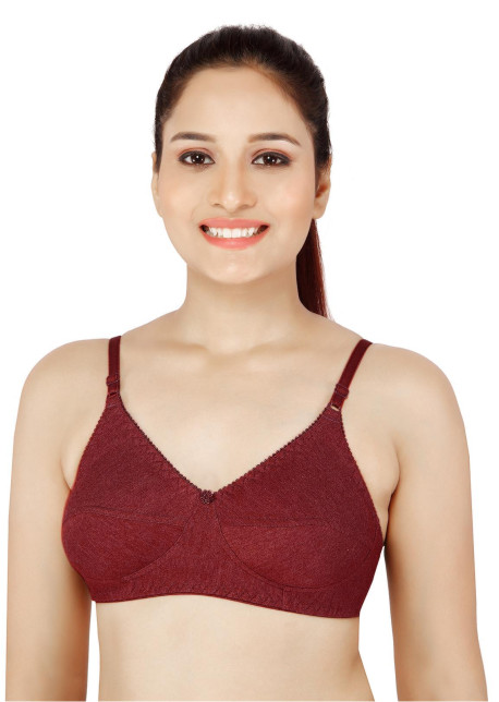 Everyday Bra-KS029-Maroon