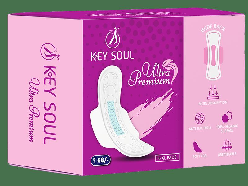 Key Soul Ultra Premium Sanitary Napkin