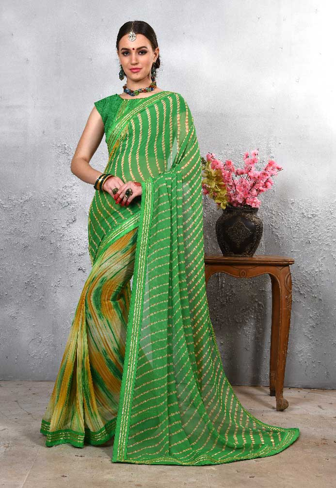 WOMEN SAREE WITH BLOUSE-D NO 110-DF LAJWANTI 01 2019