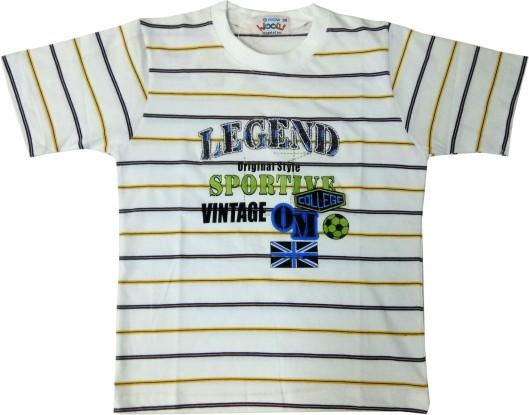 LEGEND TS - White Round Neck T-shirt