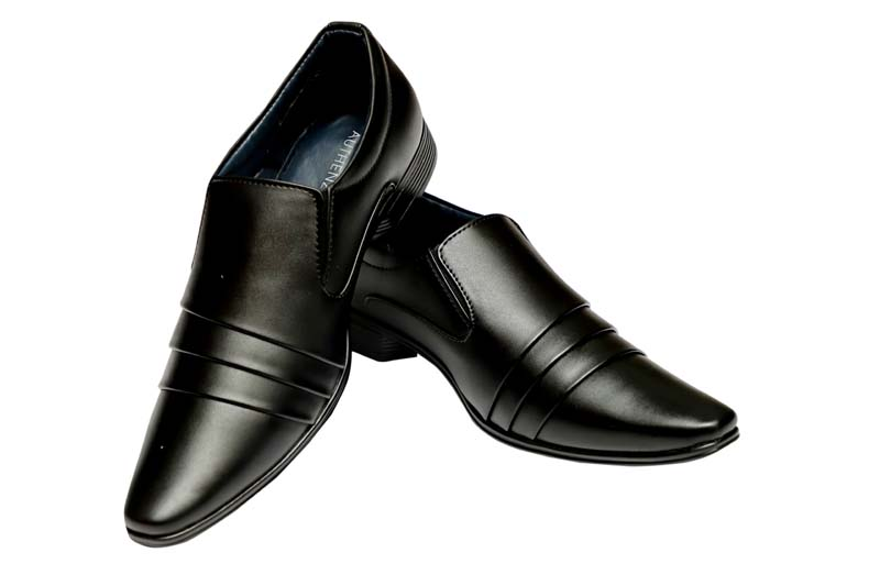 LZ 01-Black Formal Shoes