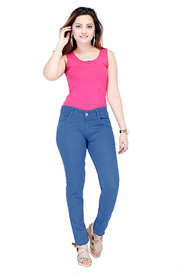 VA WDJ 03-LIGHT BLUE-WOMEN DENIM JEANS