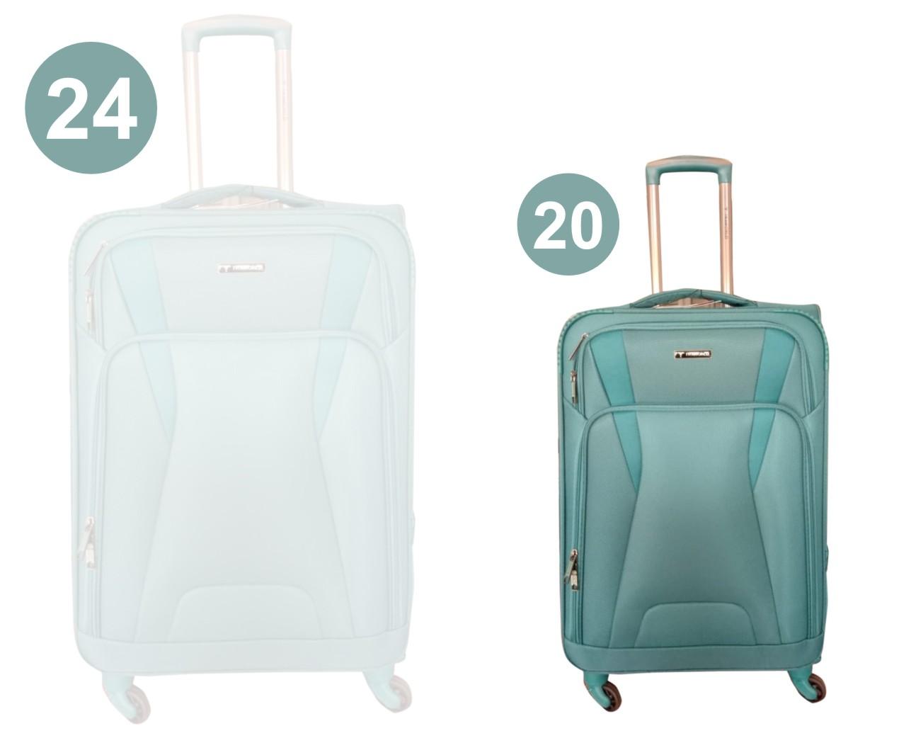 "TB FEB MERAKI 20"" 2020-GREEN 20""-TRAVEL BAG"