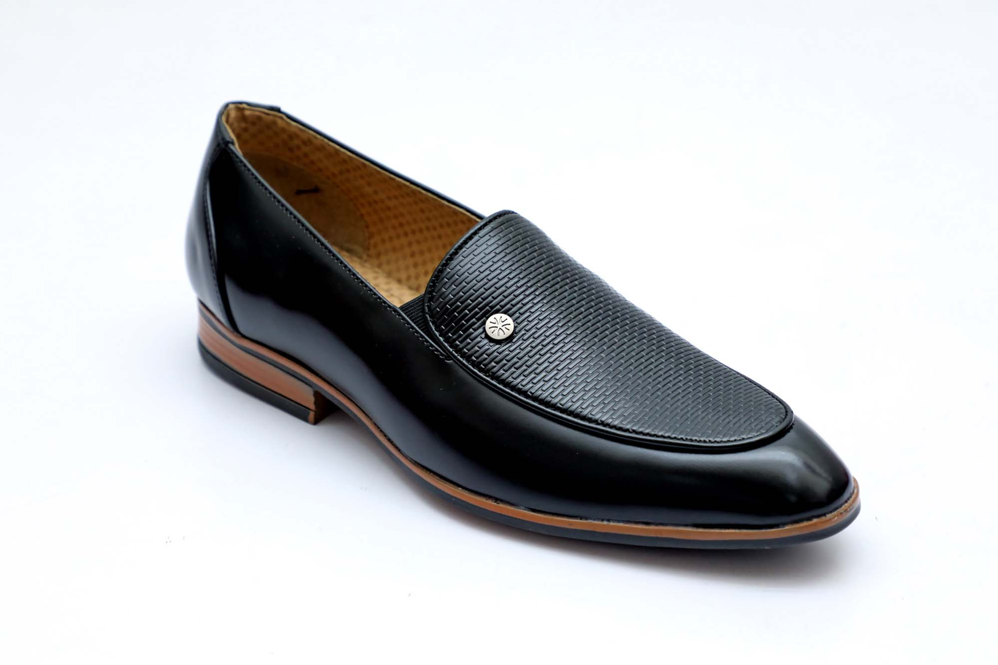 FORMAL038-BLACK MEN'S FORMAL SHOES