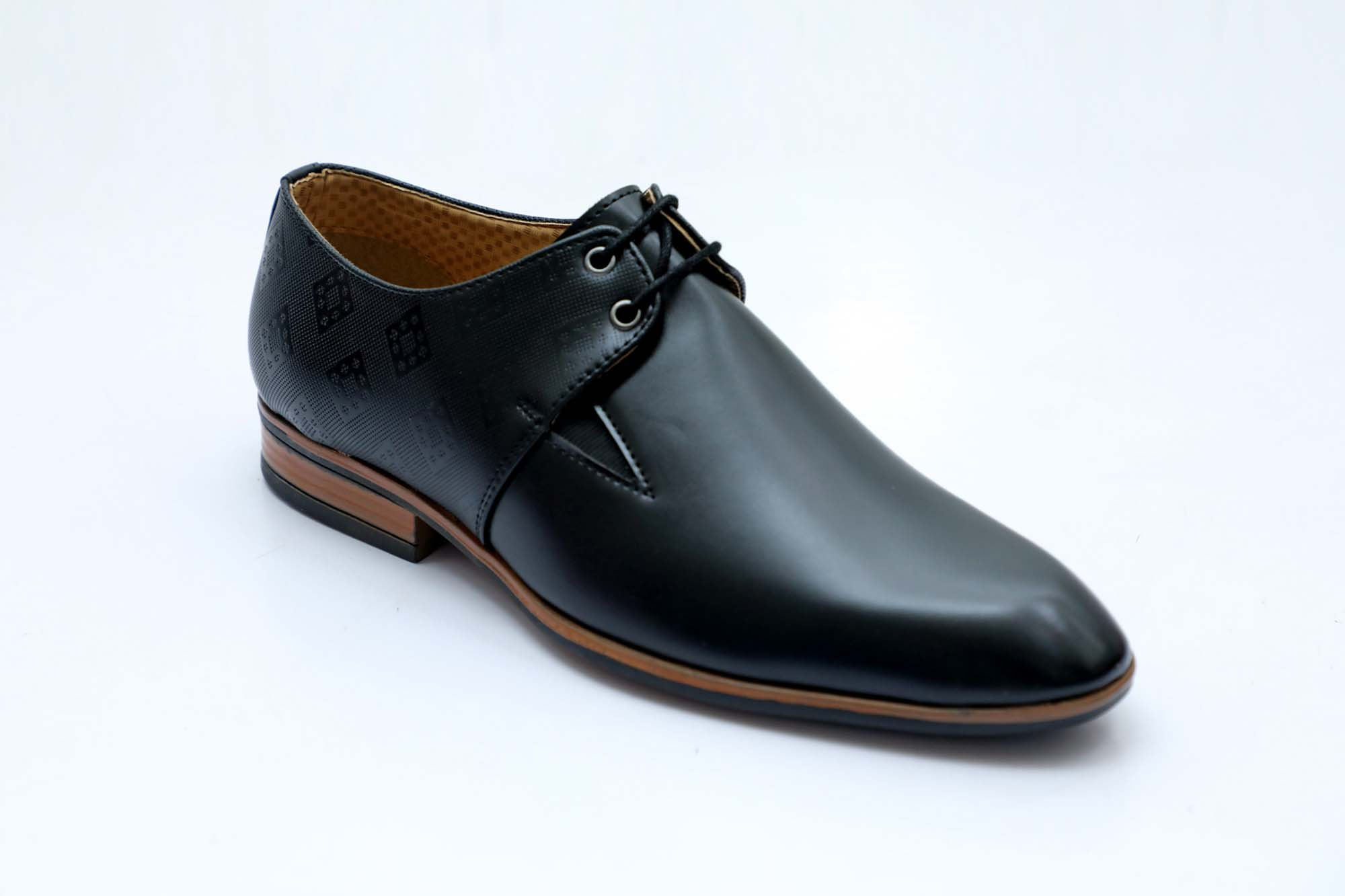 FORMAL039-BLACK MEN'S FORMAL SHOES