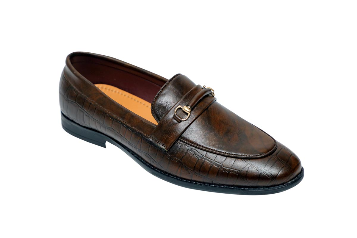 FORMAL043-BROWN MEN'S FORMAL SHOES
