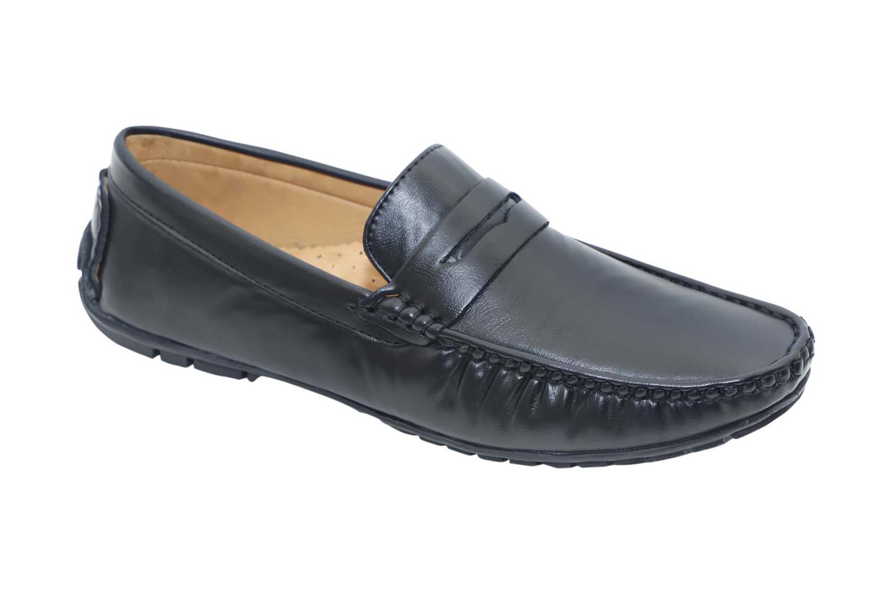 DRIVING102-BLACK MEN'S FORMAL SHOES