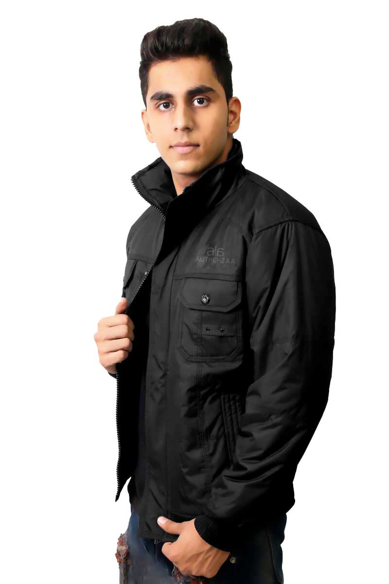 MJK MI4 10-BLACK WINTER JACKET