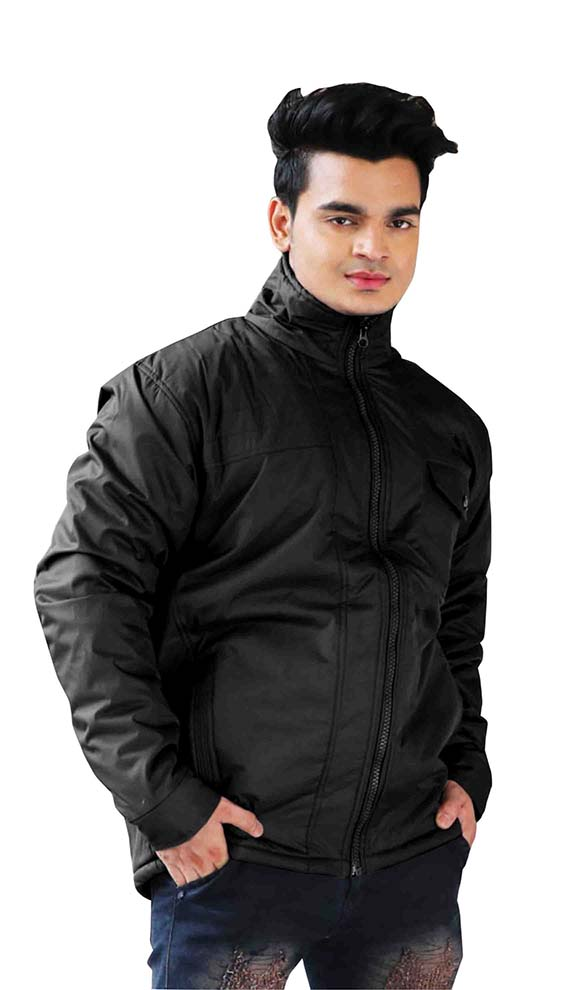 MJK MI4 12-BLACK WINTER JACKET