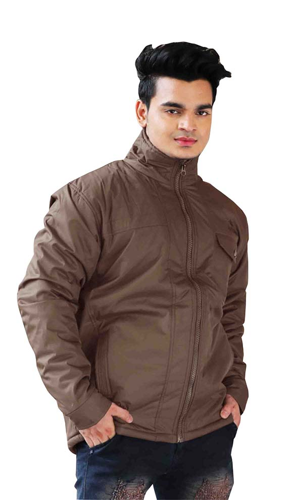 MJK MI4 12-COFFEE WINTER JACKET