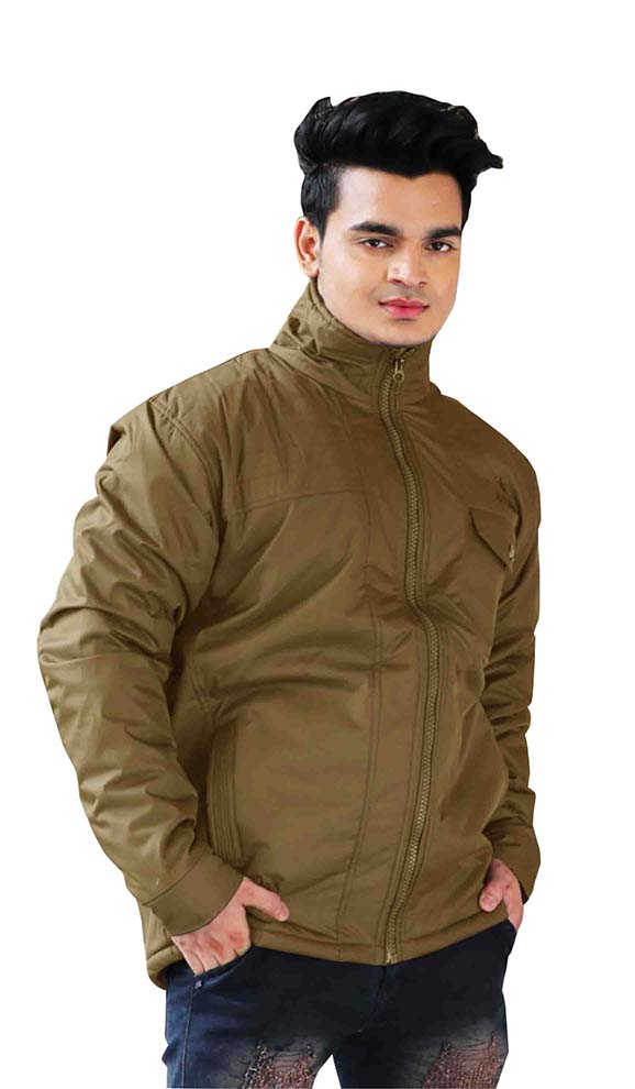 MJK MI4 12-DARK CAMEL WINTER JACKET