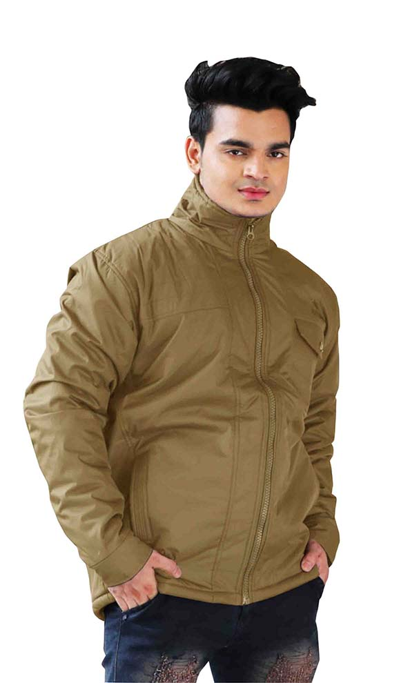 MJK MI4 12-LIGHT CAMEL WINTER JACKET
