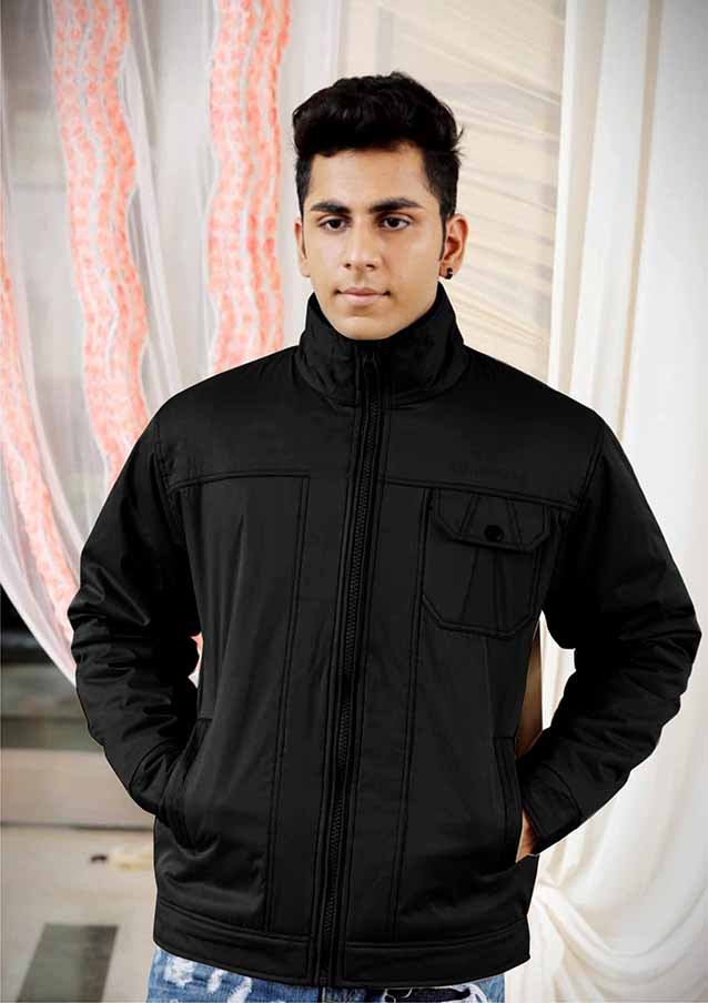 MJK MI4 11-BLACK WINTER JACKET