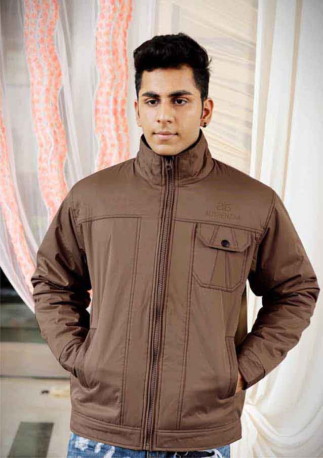 MJK MI4 11-LIGHT COFFEE WINTER JACKET