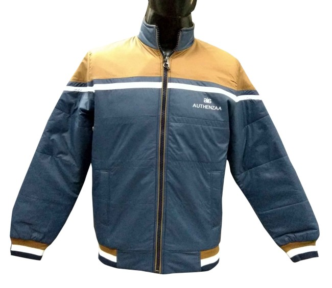 MI4 01 - Metal Blue Winter's Jacket