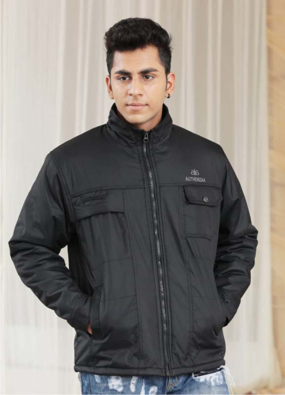 MJK MI4 07-BLACK WINTER JACKET