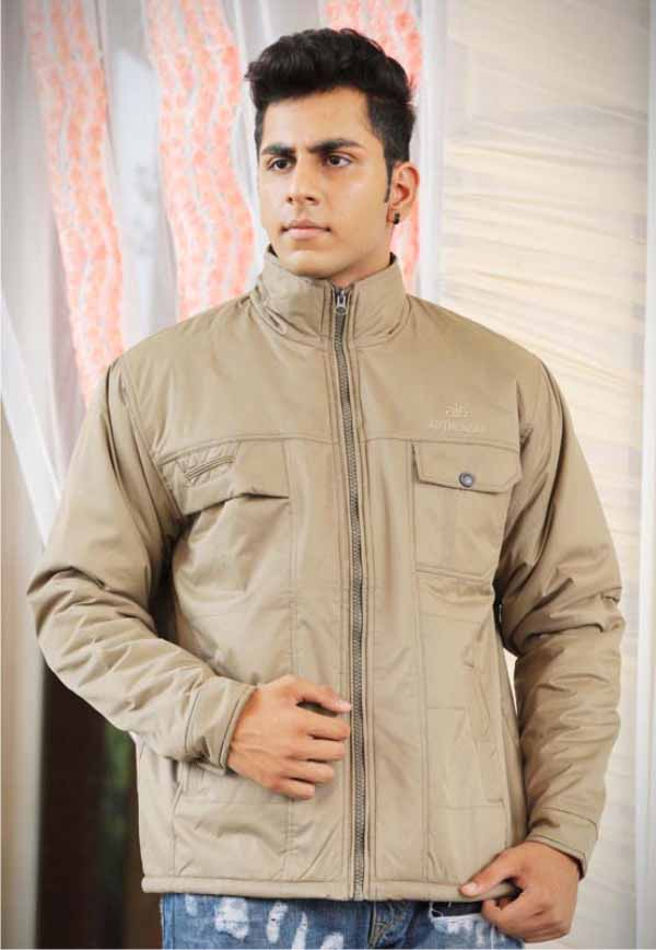 MJK MI4 07-LIGHT CAMEL WINTER JACKET