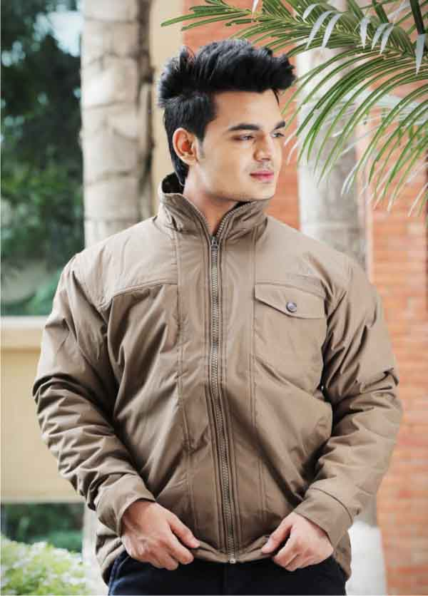 MJK MI4 08-DARK CAMEL WINTER JACKET