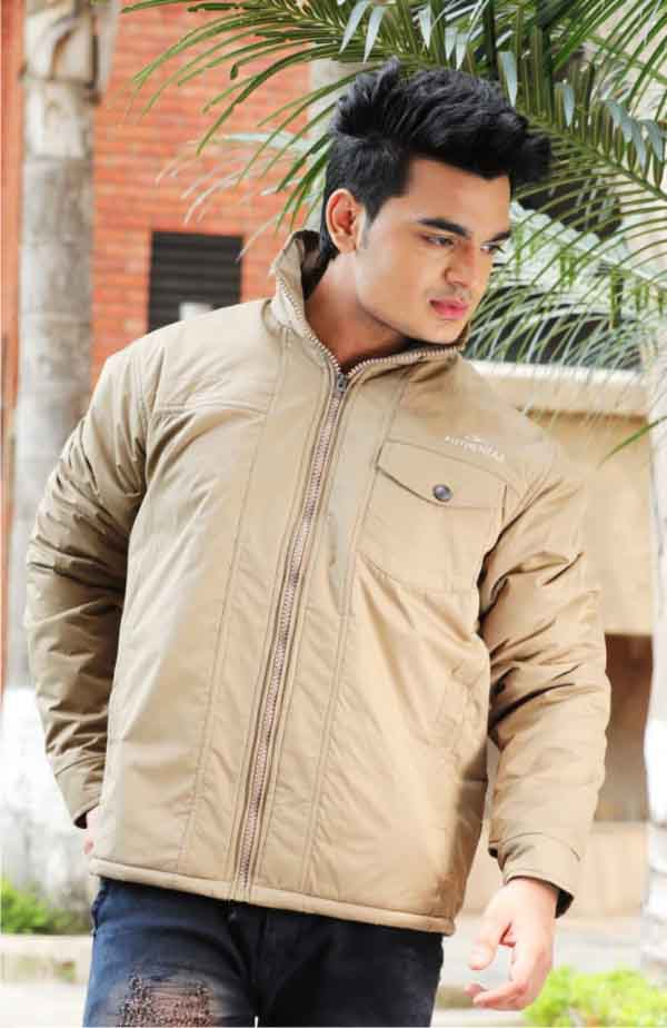 MJK MI4 08-LIGHT CAMEL WINTER JACKET