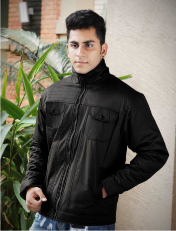 MJK MI4 09-BLACK WINTER JACKET