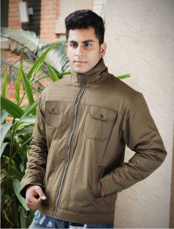 MJK MI4 09-LIGHT CAMEL WINTER JACKET