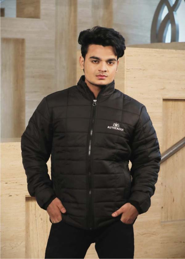 MJK MI6 05-Black WINTER JACKET
