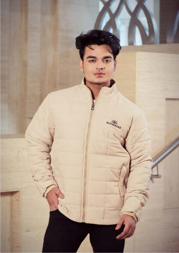 MJK MI6 05-CREAM WINTER JACKET