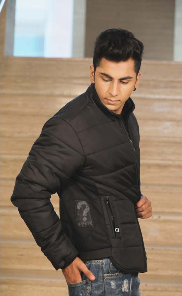 MJK MI6 06-BLACK WINTER JACKET