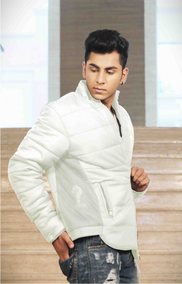 MJK MI6 06-WHITE WINTER JACKET
