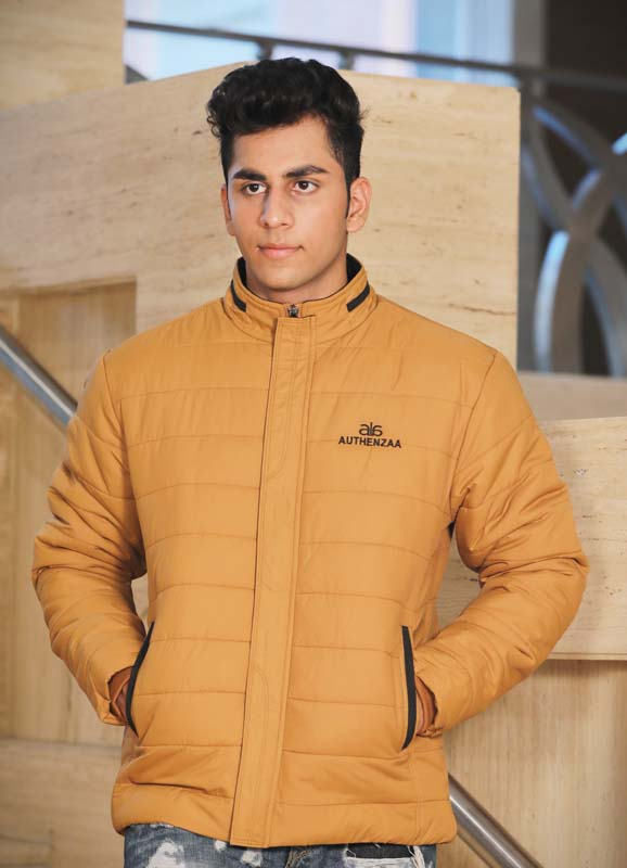 MJK MI6 07-D TAN WINTER JACKET