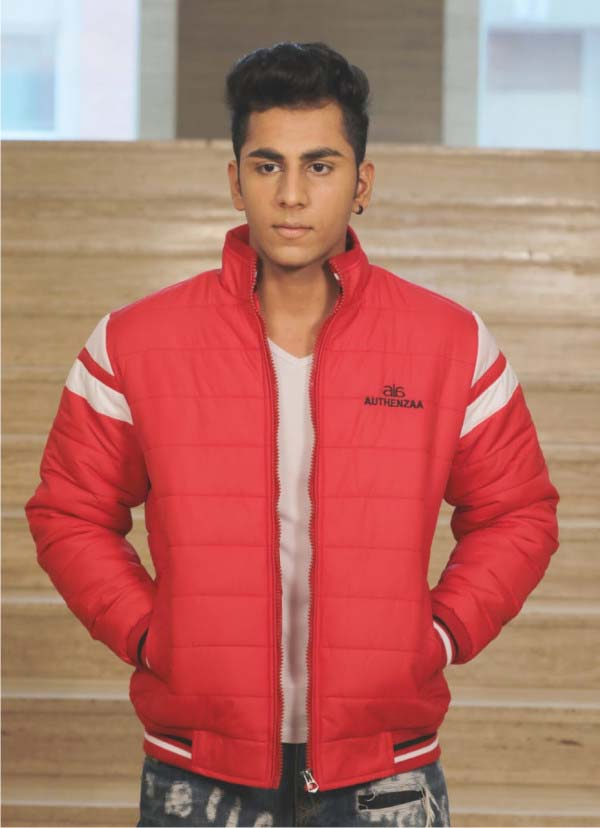 MJK MI6 08-RED WINTER JACKET