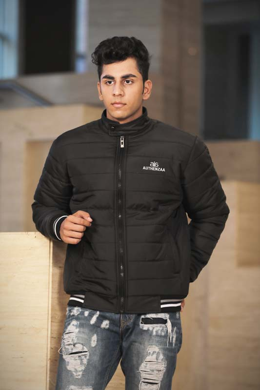 MJK MI6 13-BLACK WINTER JACKET