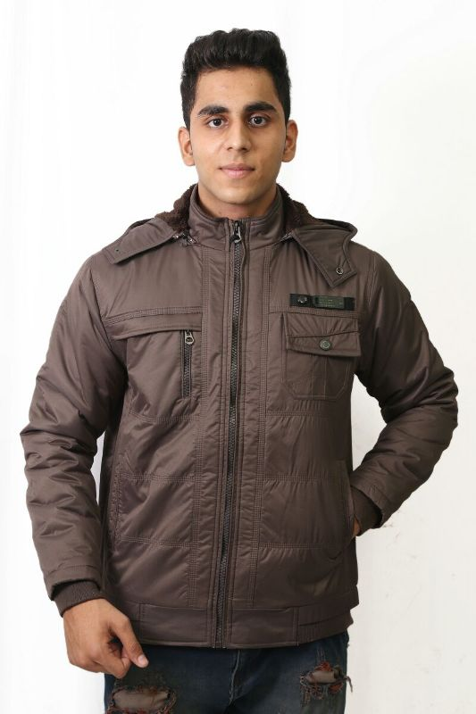 MI8 01 - Dark Gray Winter's Jacket