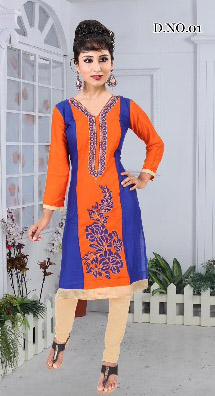 AF MOHINI 01-D NO 1 STYLISH WOMEN KURTY