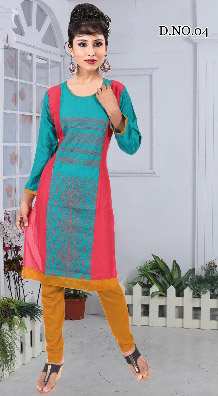 AF MOHINI 01-D NO 4 STYLISH WOMEN KURTY