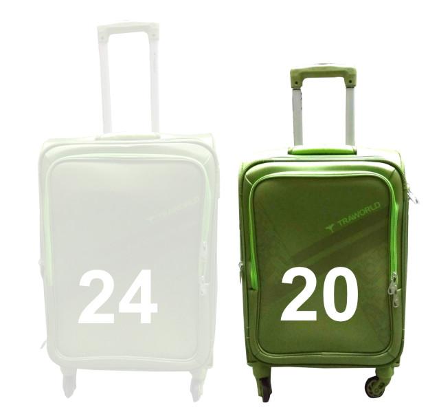 "TB MOURITIUS 20""-TEA GREEN TRAVEL BAG"