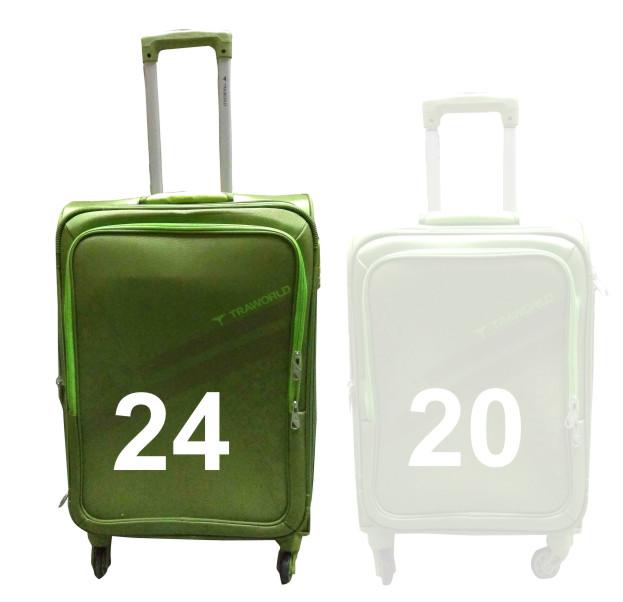 "TB MOURITIUS 24""-TEA GREEN TRAVEL BAG"