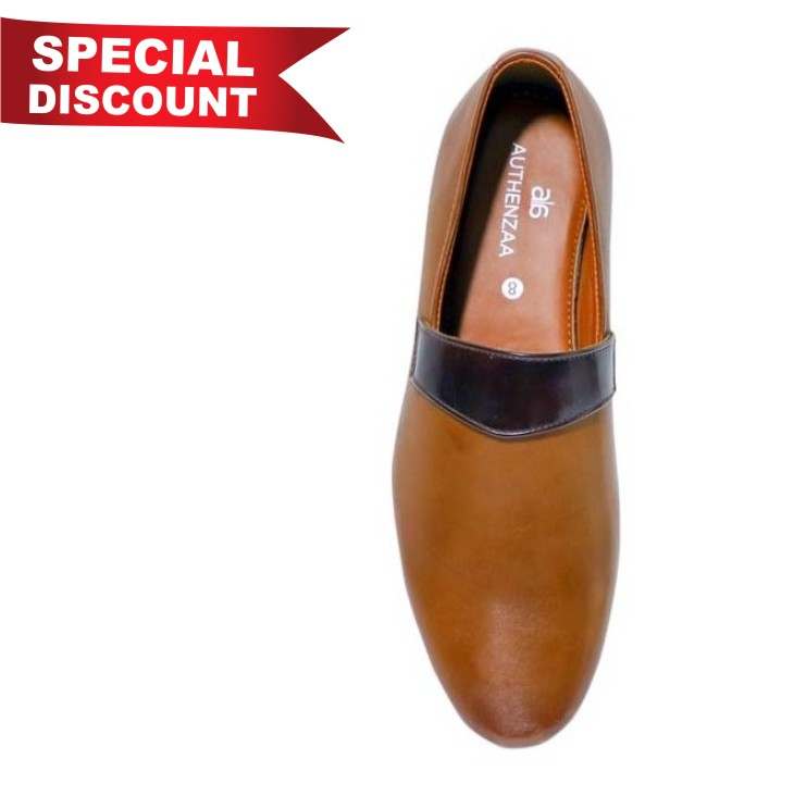 GR 13-BROWN MEN'S FORMAL SHOES
