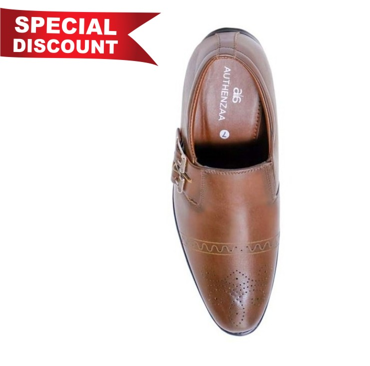 GR 15-BROWN MEN'S FORMAL SHOES