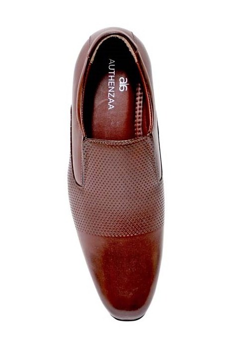 GR 17-BROWN MEN'S FORMAL SHOES