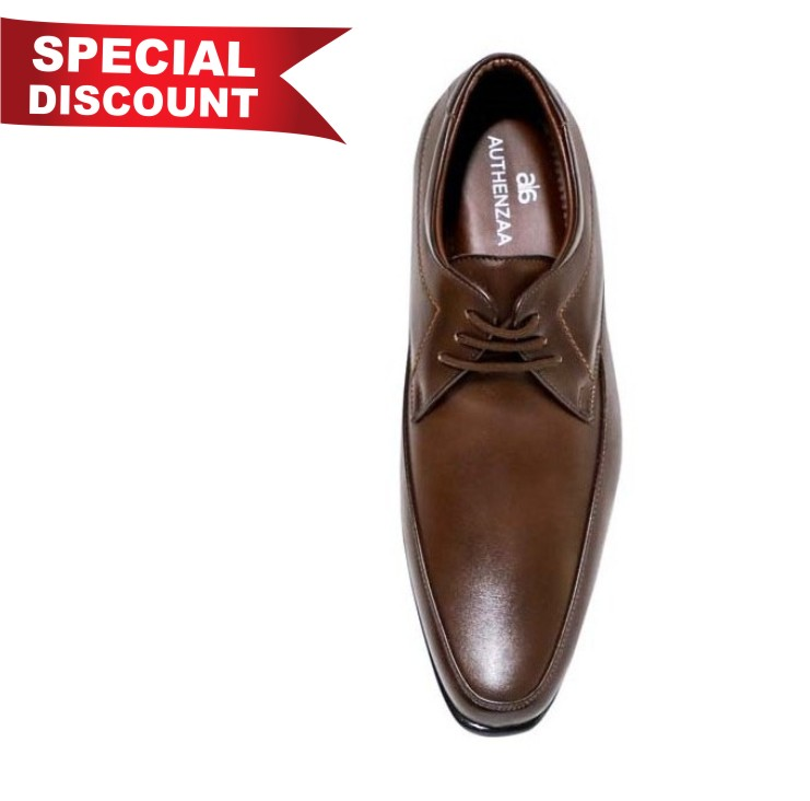 GR 19-BROWN MEN'S FORMAL SHOES