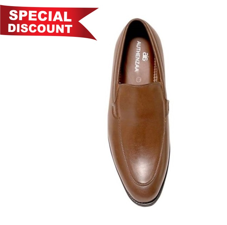GR 21-BROWN MEN'S FORMAL SHOES