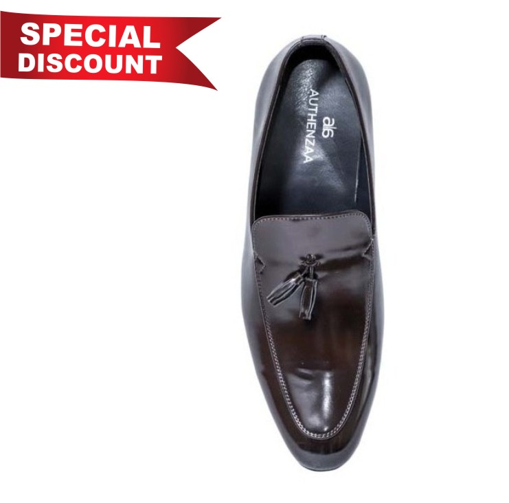 GR 23-BROWN MEN'S FORMAL SHOES